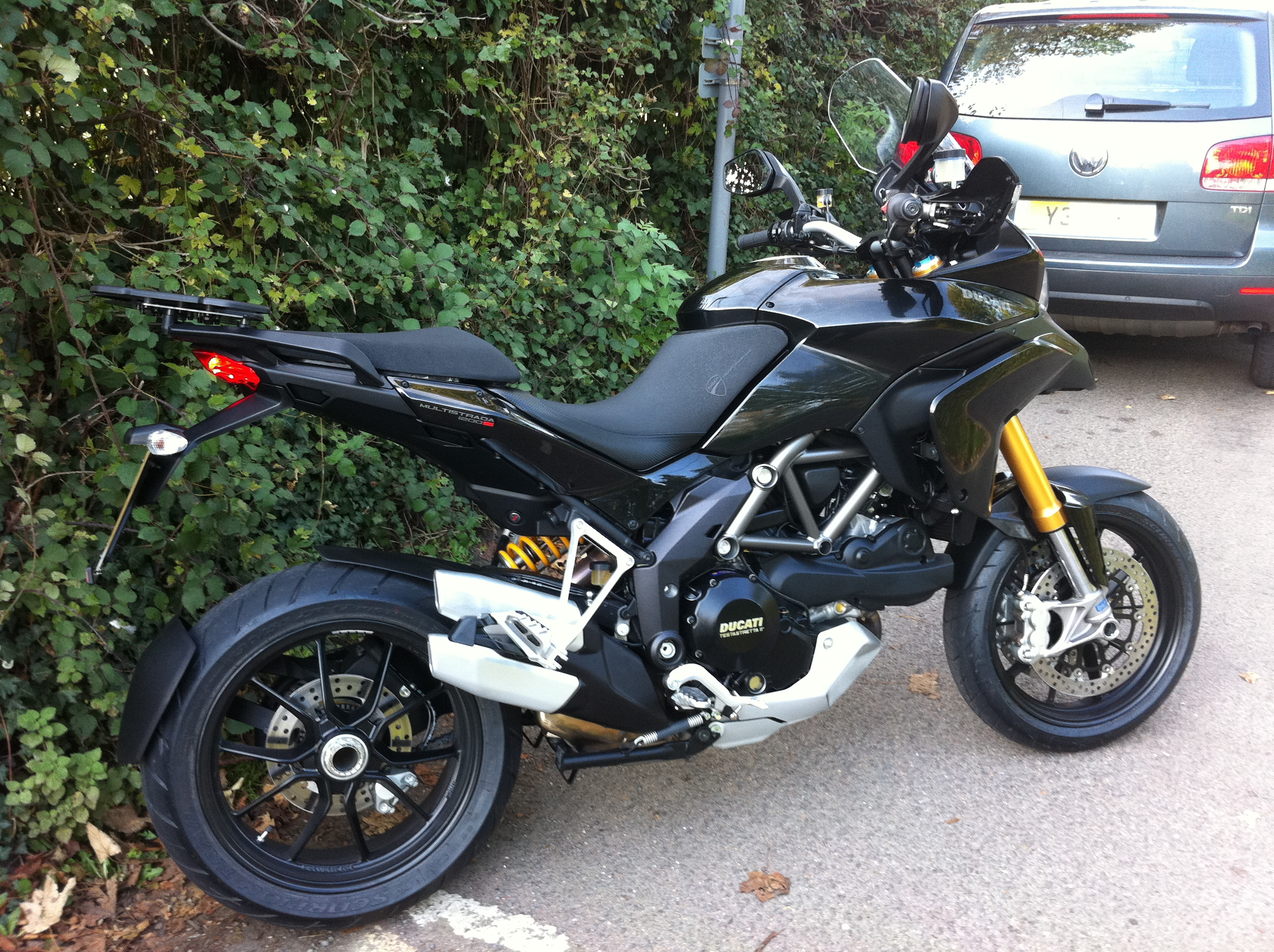 2011 ducati multistrada 1200s touring - a practical review, one